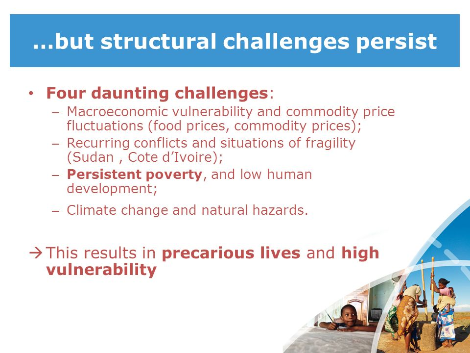 …but structural challenges persist
