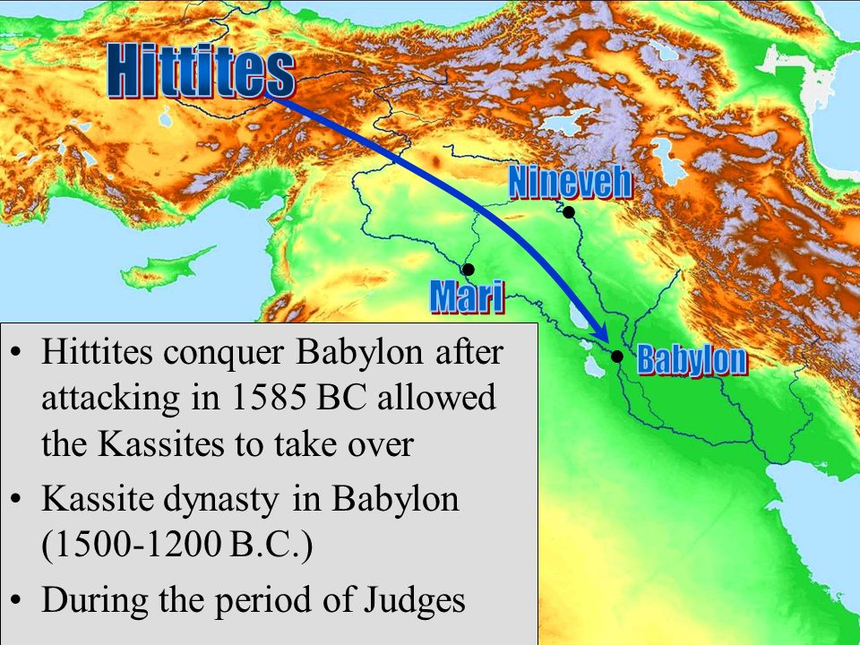 assyria and hittite The power of the hittites was thus broken by assyria, yet they continued the struggle for more than 4 centuries afterward after the defeat of tiglath-pileser i by.