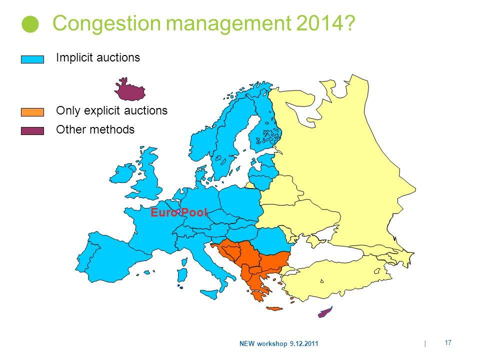 Congestion management 2014