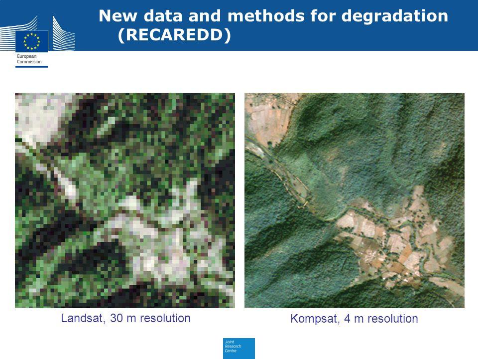 New data and methods for degradation (RECAREDD)