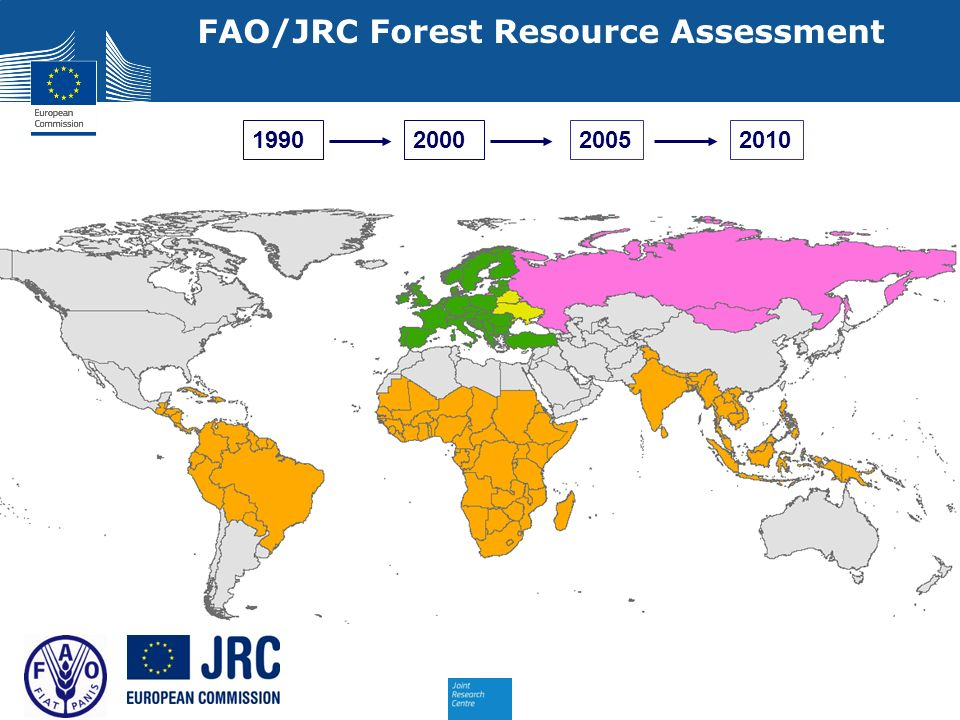FAO/JRC Forest Resource Assessment