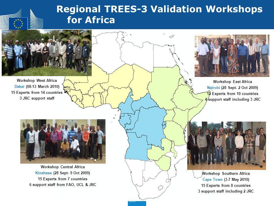 Regional TREES-3 Validation Workshops for Africa