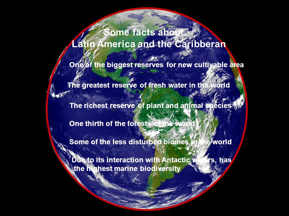 Latin America and the Caribberan