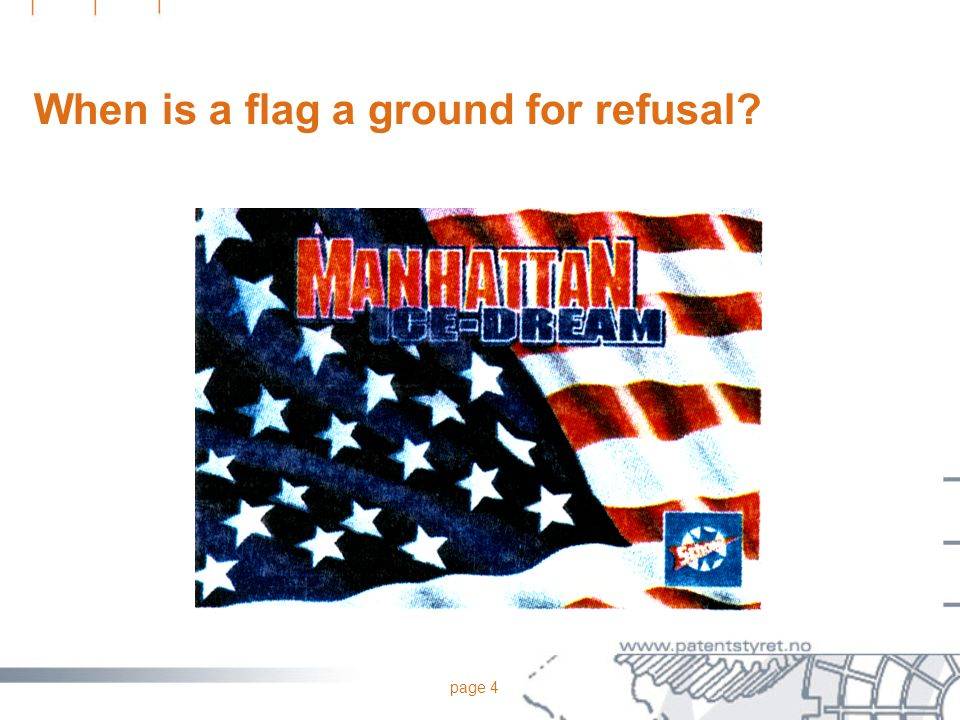 When is a flag a ground for refusal