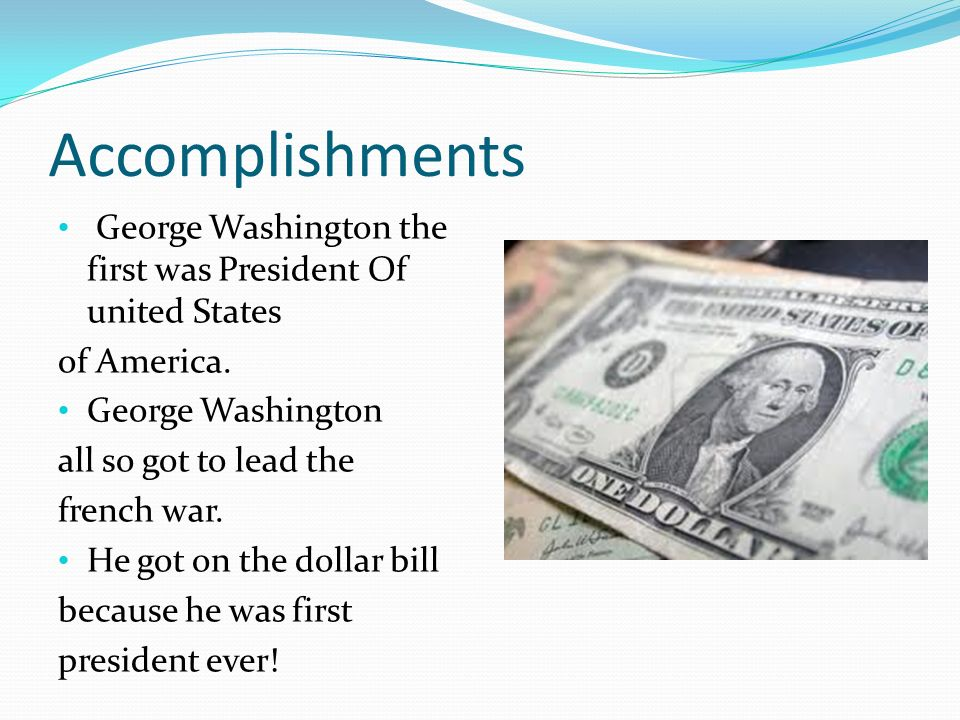 biography of george washington the first president of the united states of america Learn about george washington, the first president of the united states though these educational videos and related activities, students will separate fact from.