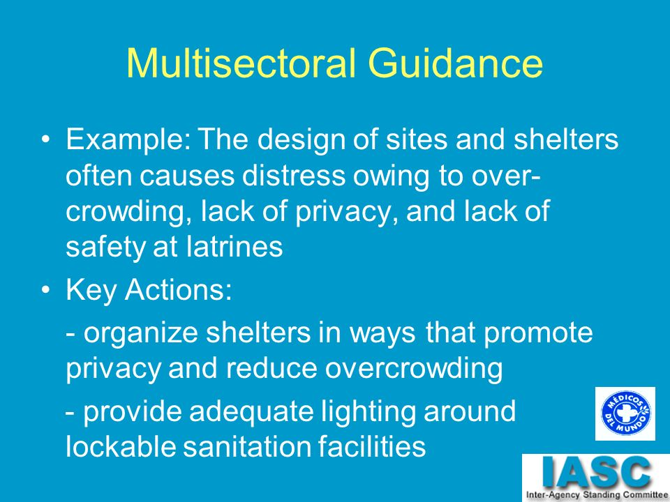 Multisectoral Guidance