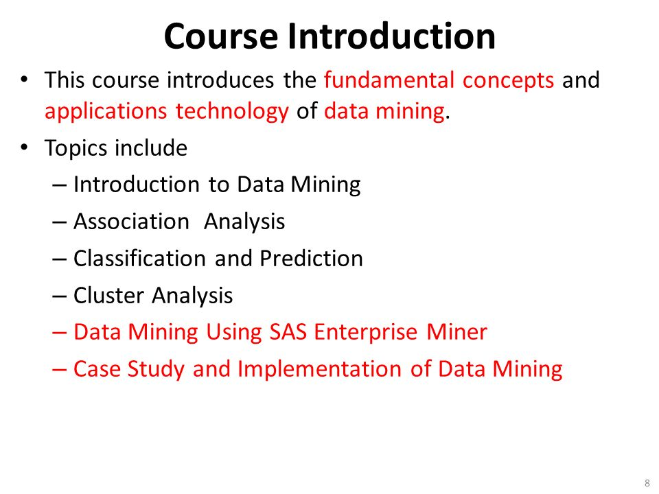 data analysis and data mining an introduction pdf