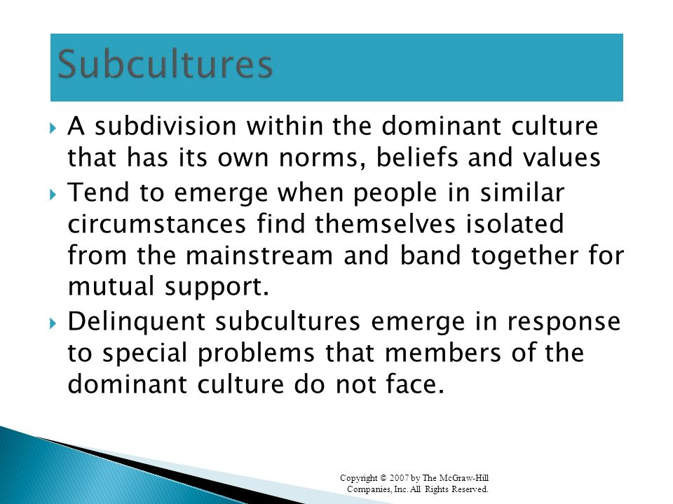 dominant culture essay How can the answer be improved.