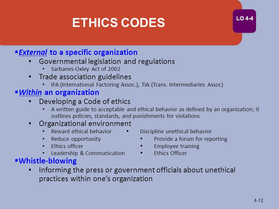 Demanding ethical and socially responsible behavior ppt - Ethics and compliance officer association ...