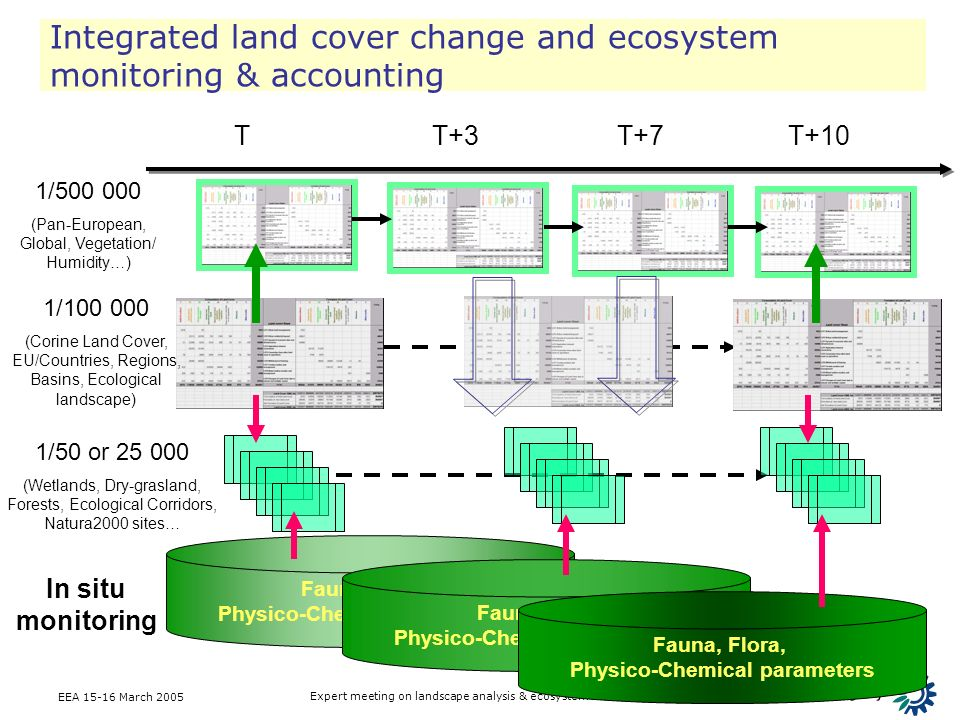Integrated land cover change and ecosystem monitoring & accounting