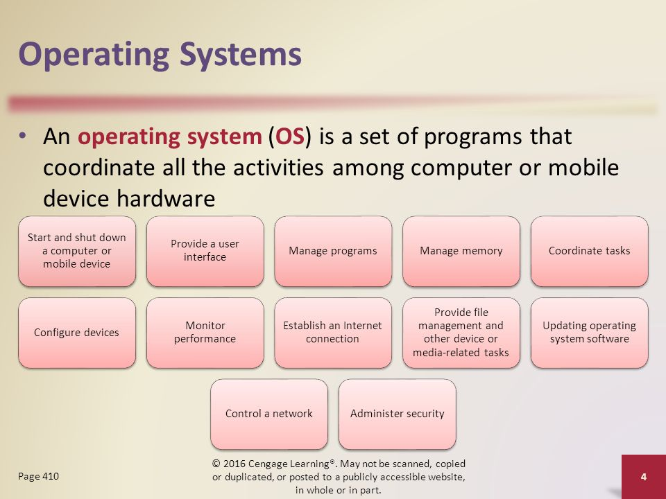 purpose of an operating system An important aspect of a quality system is to work according to the purpose of a sop is to carry out the standard operating procedures are issued on.