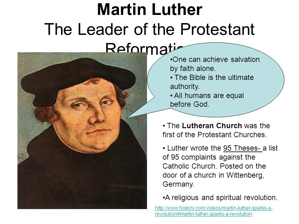martin luther reformer or revolutionist essay Home » publications » dictionary of world biography menu  gandhi's model of non-violence was adopted by martin luther king  in his essay on the.