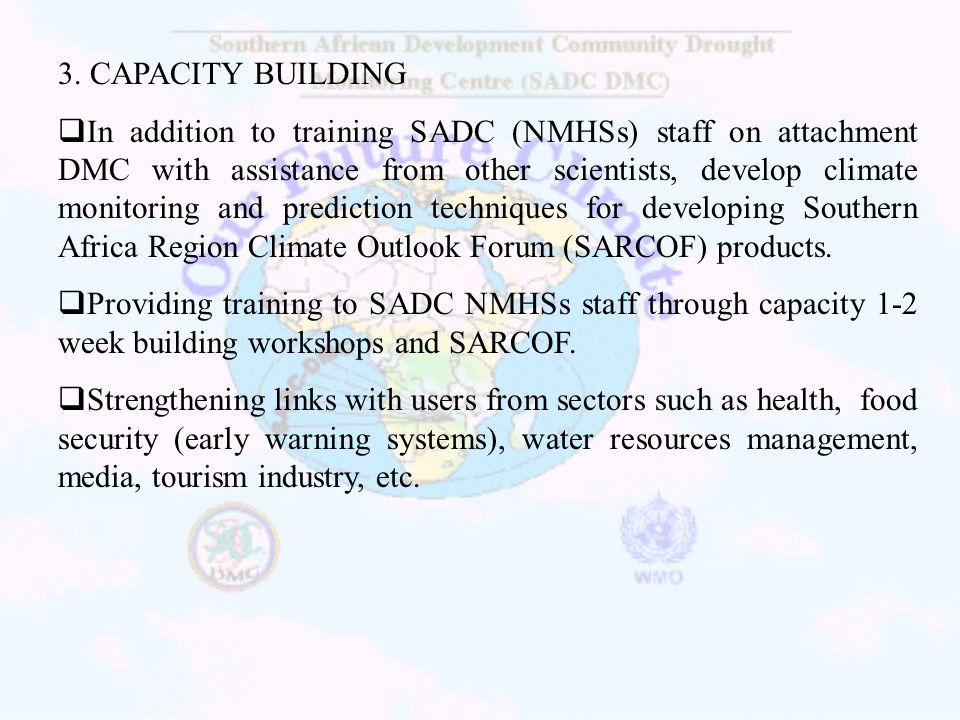 3. CAPACITY BUILDING