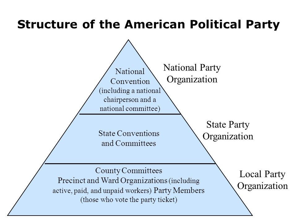 Structure of the American Political Party