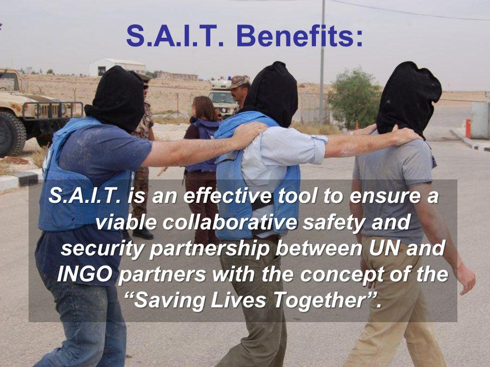 S.A.I.T. Benefits:
