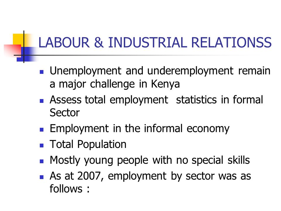 LABOUR & INDUSTRIAL RELATIONSS