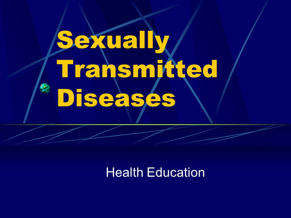 Health education sexually transmitted diseases