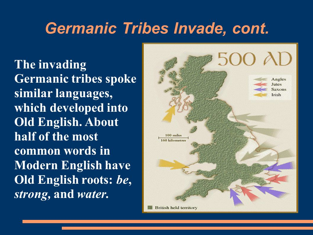 Germanic Tribes Invade, cont.