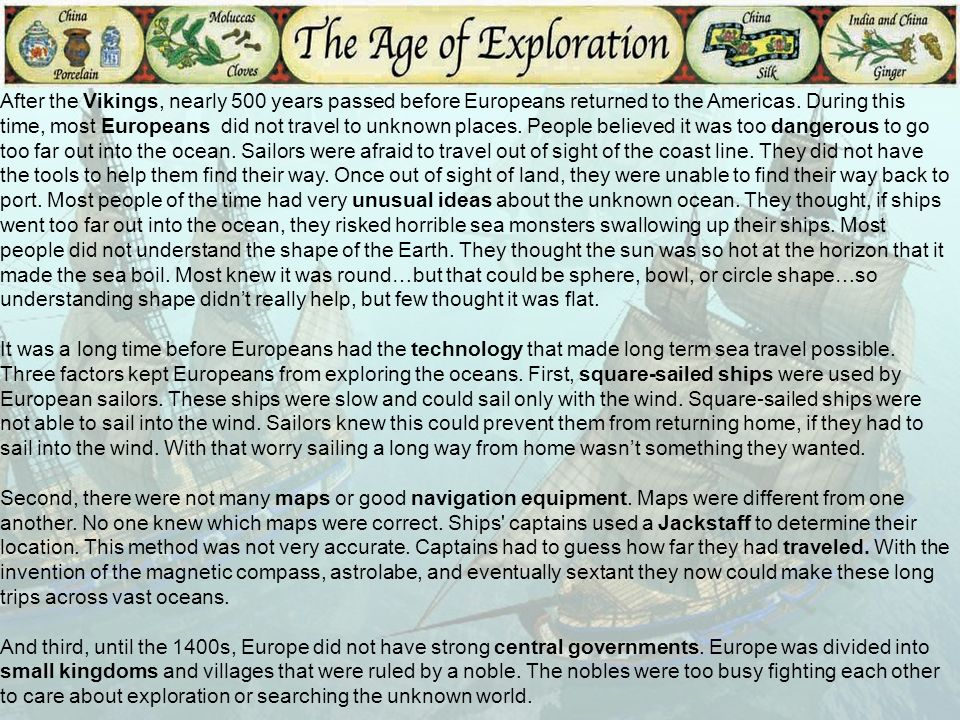 Aka The Age Of Discovery Ppt Download