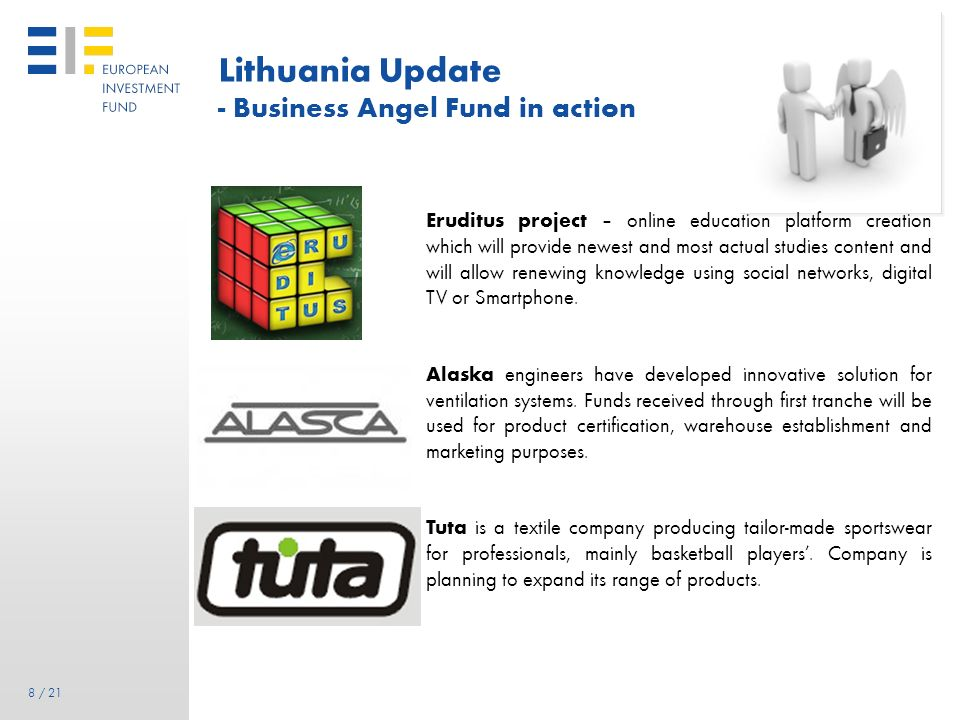 Lithuania Update - Business Angel Fund in action