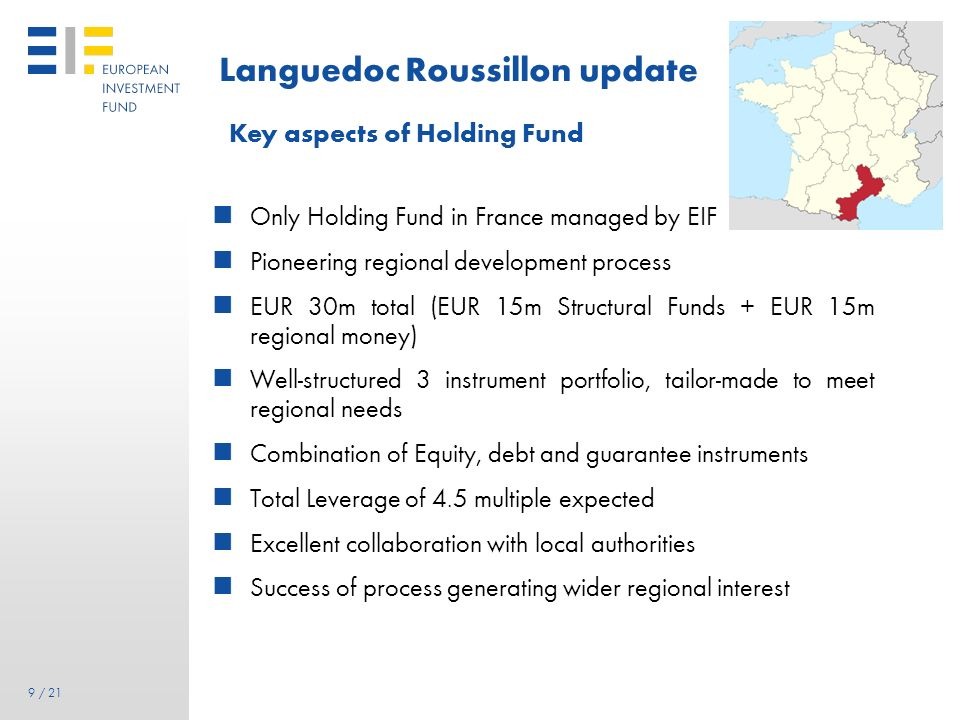 Languedoc Roussillon update