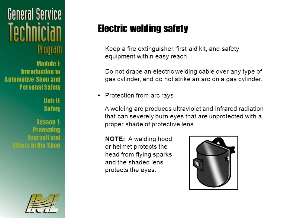 Electric welding safety