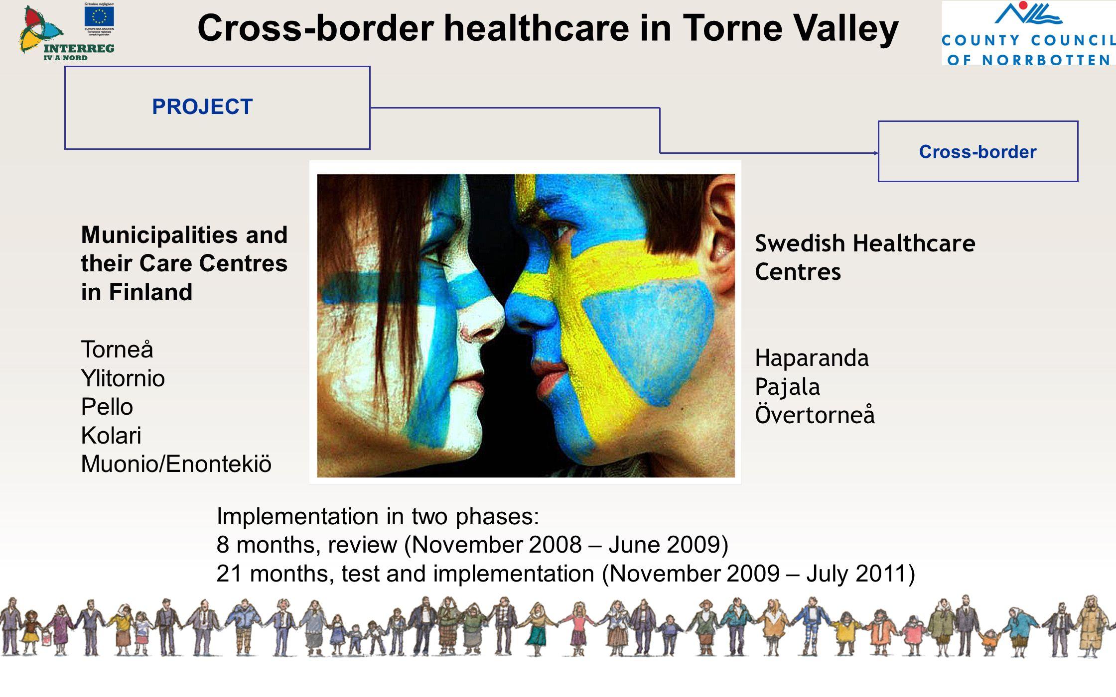 Cross-border healthcare in Torne Valley