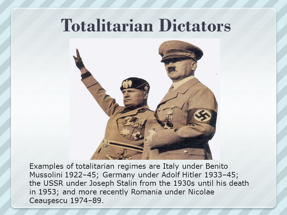 Was Nazi Germany a totalitarian state?