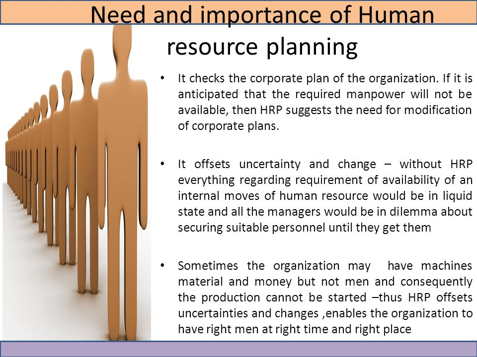 Critical Importance of Human Resource Planning
