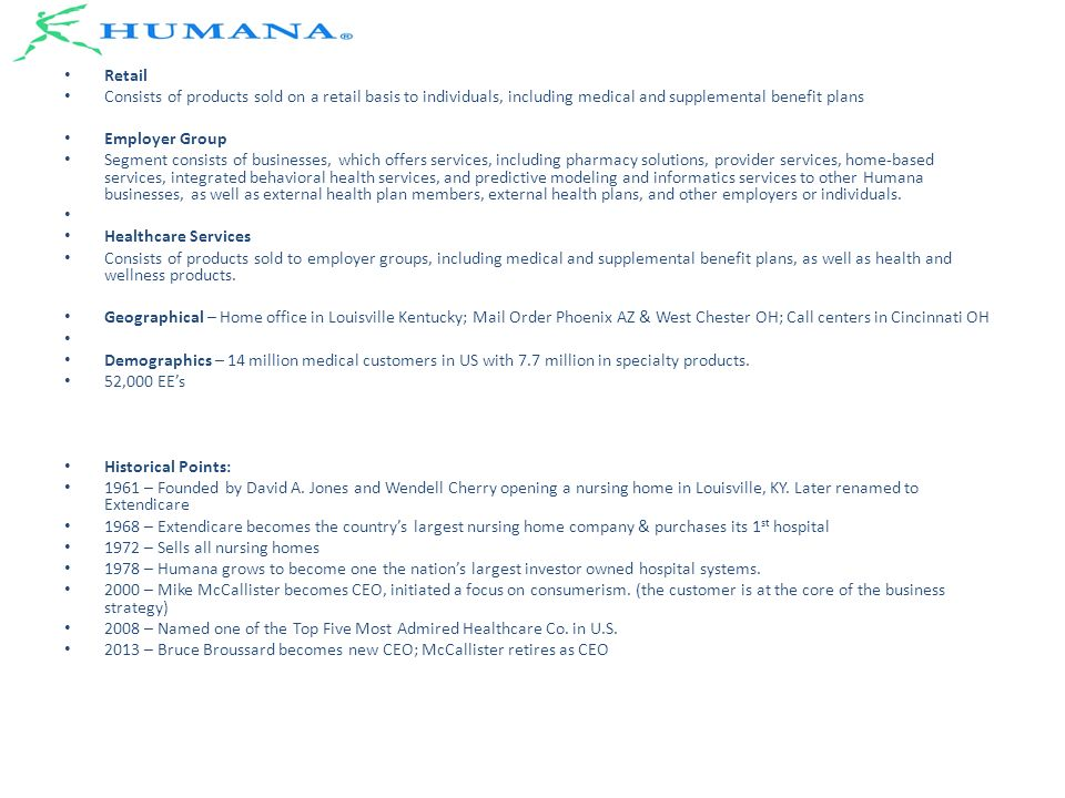 Humana Insight Humana About: - ppt video online download