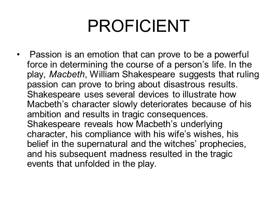A literary analysis of supernatural forces in macbeth by william shakespeare