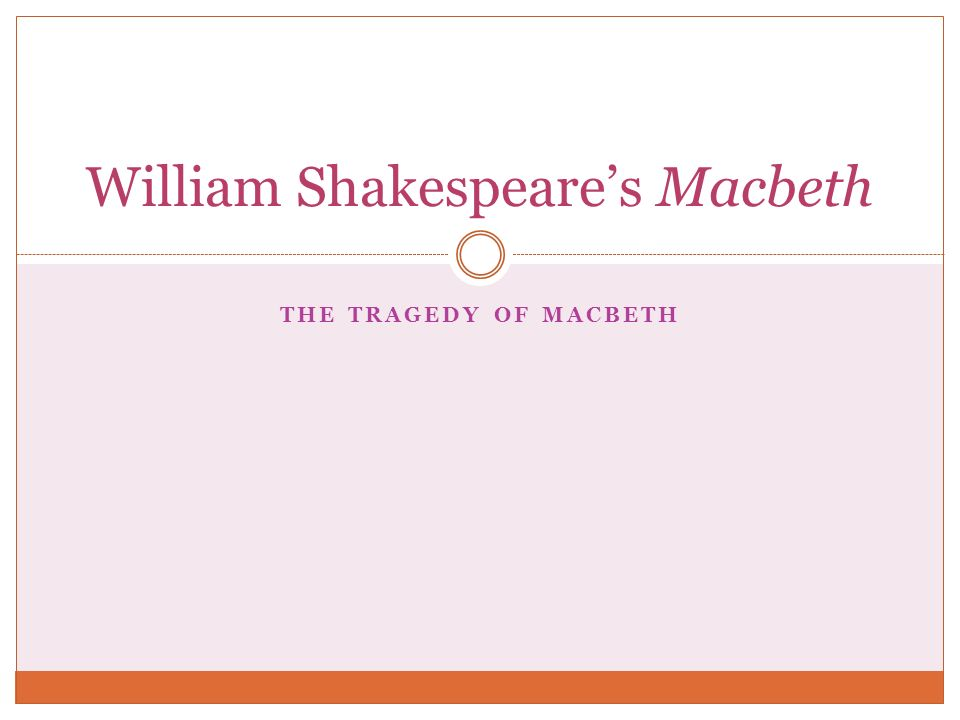 macbeth by shakespeare essay