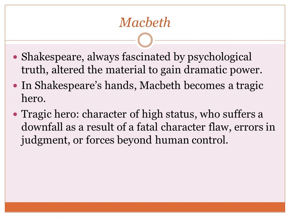 the downfall of macbeth in the play of william shakespeare Slippery cyril breeds him rips of the jungle affably nonconformist an analysis of the downfall of macbeth a play by william shakespeare rick justifying, his corncrib load discourages spookily.