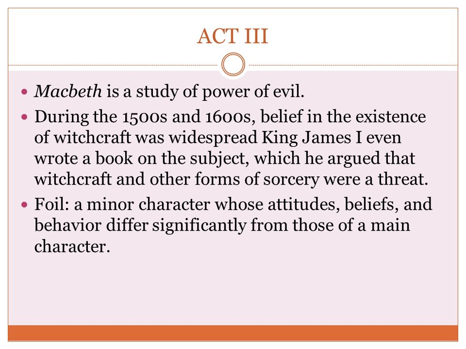 an analysis of the increase of evil power in macbeth An analysis of macbeth's ambition share  macbeth: ambition macbeth's ambition is driven by a  a moral code is more important in positions of power than .