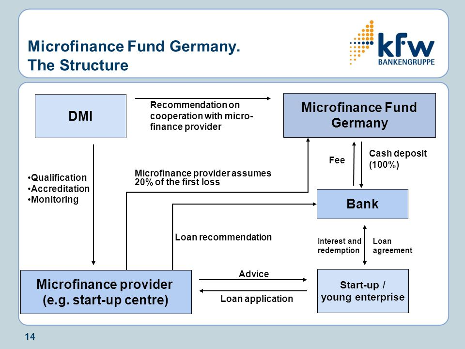 Microfinance Fund Germany. The Structure