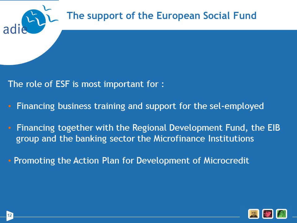 The support of the European Social Fund