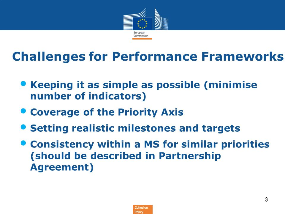 Challenges for Performance Frameworks