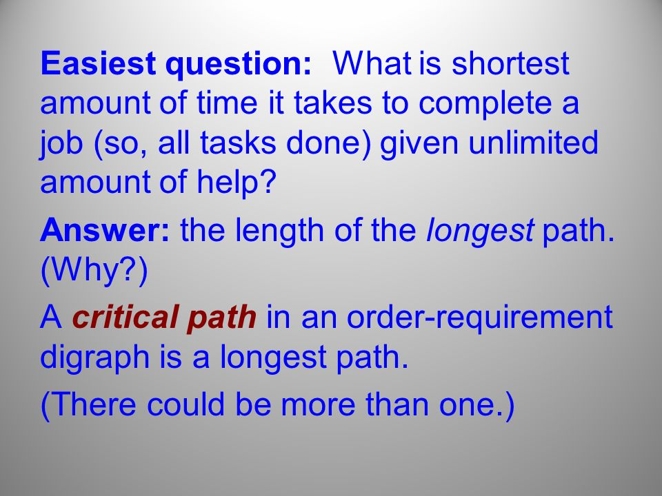 critical path analysis question and answers pdf
