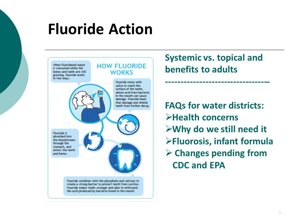 water flouridation Community water fluoridation is recognized by the centers for disease control and prevention as one of the 10 great public health achievements of the 20th century.