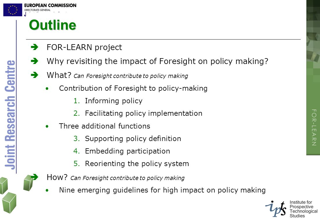 Outline FOR-LEARN project