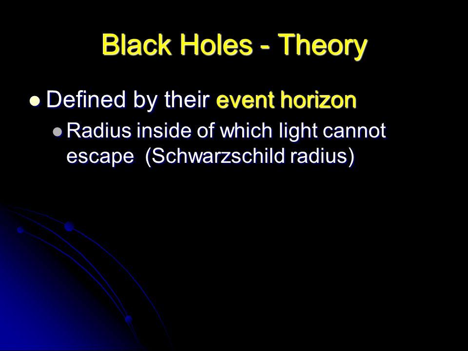 Black Holes & Relativity - ppt video online download