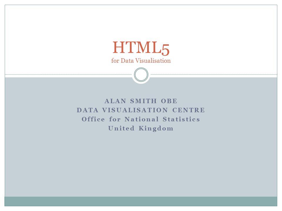 HTML5 for Data Visualisation