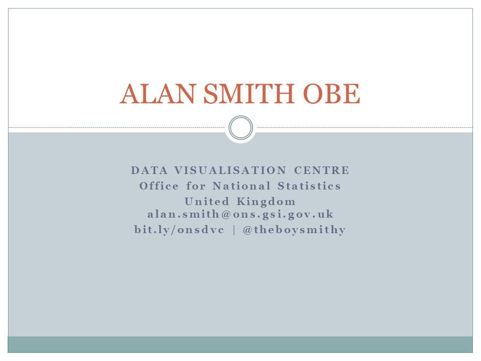ALAN SMITH OBE Data Visualisation Centre