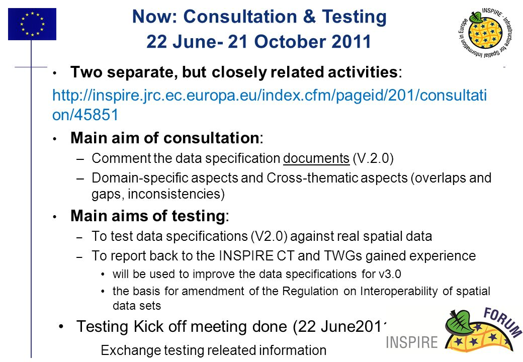 Now: Consultation & Testing
