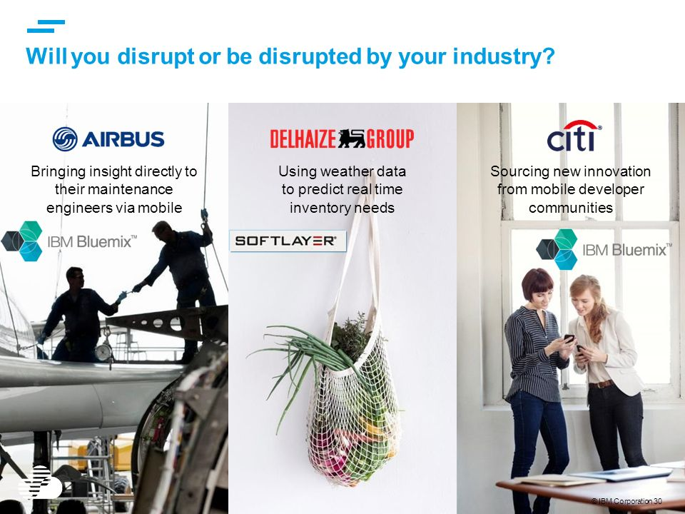 Will you disrupt or be disrupted by your industry