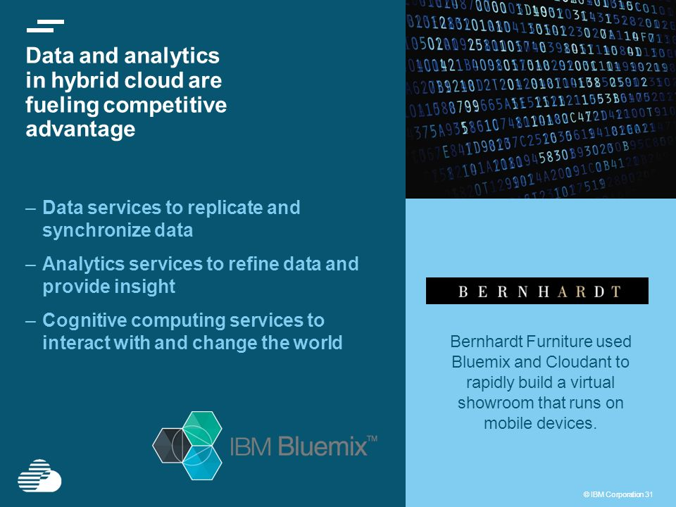 Data and analytics in hybrid cloud are fueling competitive advantage