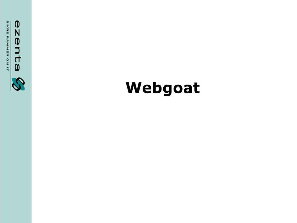 GRATUITEMENT OWASP TÉLÉCHARGER WEBGOAT