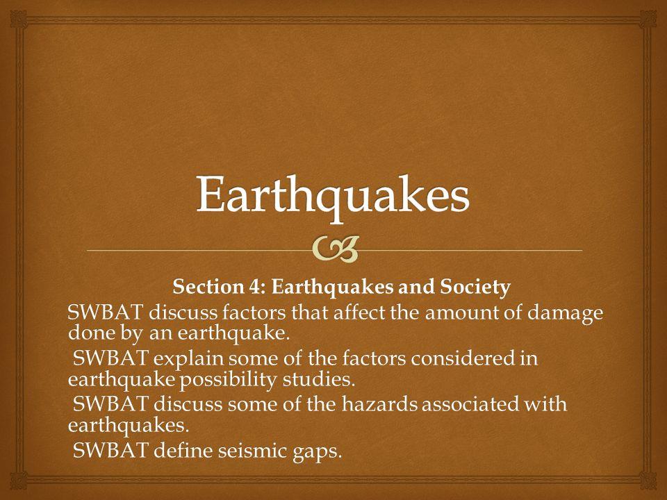 Explain An Earthquake Time Travel Curve