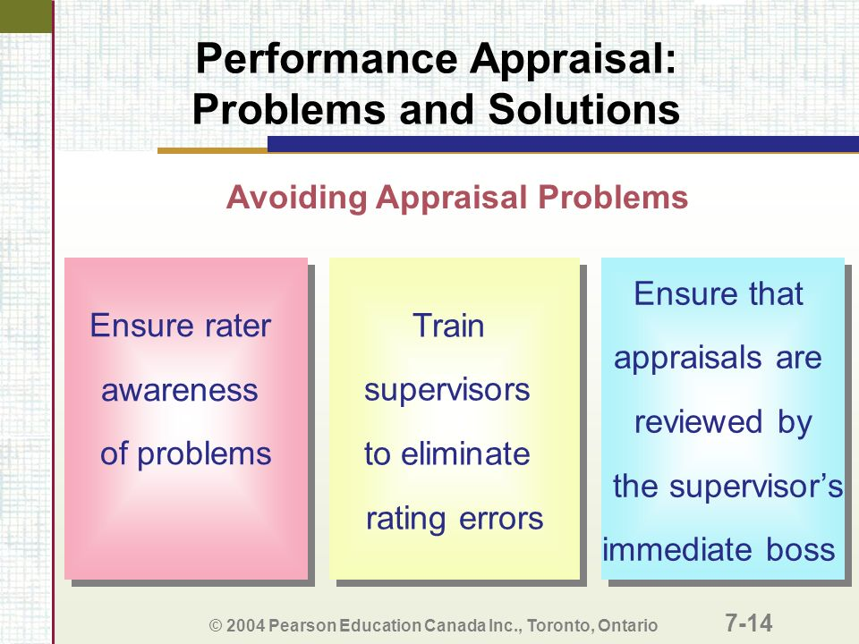 Performance Appraisal: Common Pitfalls and Solutions