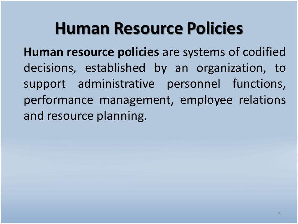 ibm hr policies ppt Managers in departments are the implementers of human resource management policy, and as such, vital to successful management practices - they hold the key to.